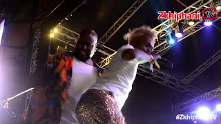 Bujy & Somizi dance at #MajorLeagueGardens19Sep