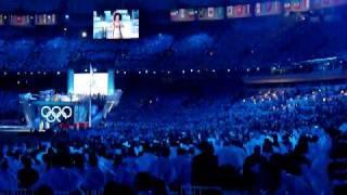 Opening Ceremony 2010 Olympics - Olympic Anthem