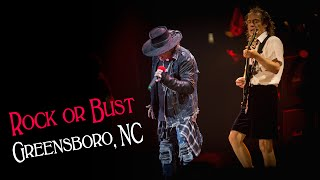 AC/DC - Rock Or Bust World Tour - Greensboro, NC