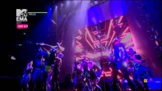 Ke$ha - Tik Tok (Live in EMA 2011- Belfast)