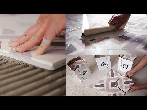 Come posare le piastrelle in graniglia di cemento tutto per casa