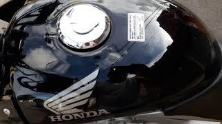 Honda Twister 250/2008,feita funilaria e pintura  no tanque e asas,ficou top.