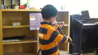 Minuet and Trio @ Violin Lesson 2013.02.23