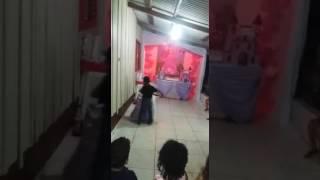 Dançando valsa da princesa sofhia