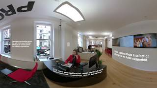 PRG XL Video - 360˚ Tour of London office