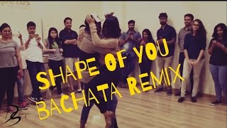 Shape Of You | Cornel and Rithika | Bachata Sensual | Ed Sheeran | Dimaf remix
