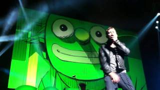 Gorillaz' Rhinestone Eyes (Live @ The Bell Center)