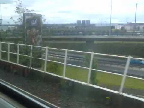 Partick Train Station to Charing Cross Train Station in Glasgow, Scotland