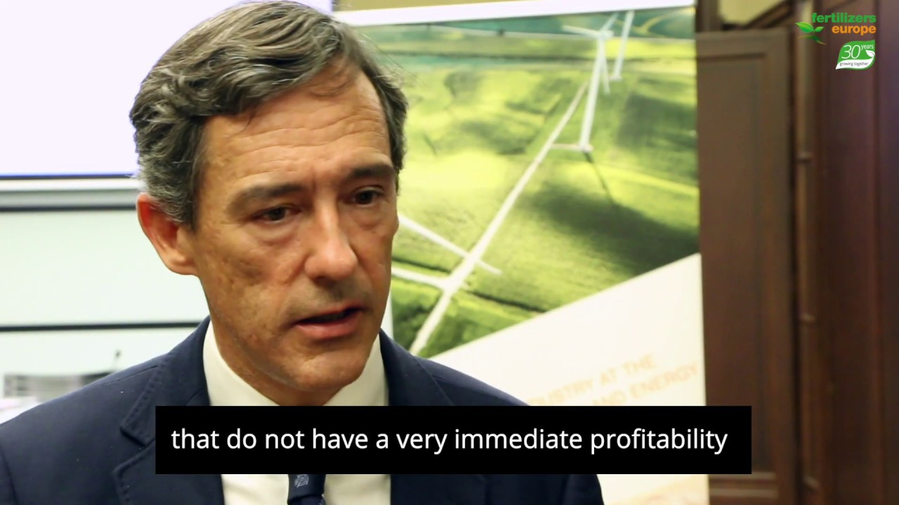 Javier Goni del Cacho – EU fertilizer industry is going to take a very important bet.