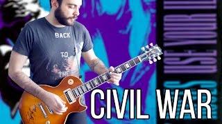 Guns N Roses - Civil War Guitar Solos Cover