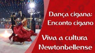 Cultura de Governador Newton Bello | Dança cigana Encanto cigano