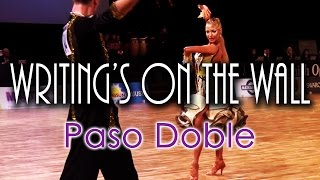 PASO DOBLE | Dj Ice - Writing's On The Wall (60 BPM)