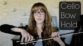 How to Hold the Cello Bow (Basics) | Sarah Joy