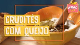 Crudités com queijo de iogurte | Rita Lobo | Cozinha Prática