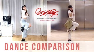 Seulgi - Wow Thing Dance Cover Comparison | Ellen and Brian