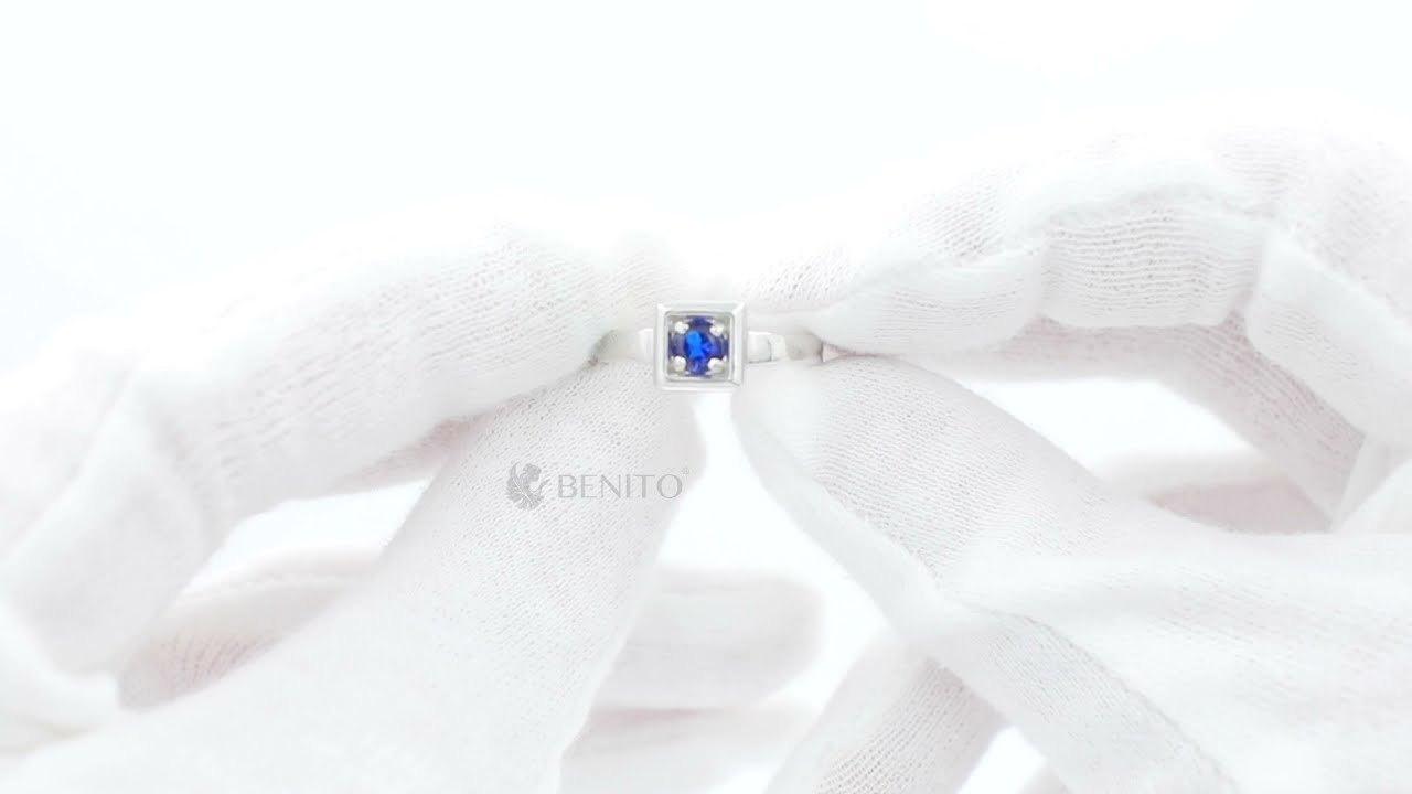 Tina Ring Blue Spinel Stone
