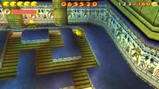 Pac-Man: Adventures in Time - Maze 10: Paraoh's Throne (2000)