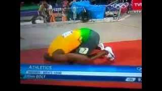 Bolt Campeón Final 100 metros / Champion Bolt Final 100 meters