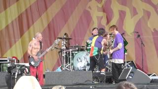 Red Hot Chili Peppers - Right On Time (Jazz Fest 04.24.16) HD