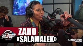 """Zaho """"Salamalek"""" en live #PlanèteRap"""