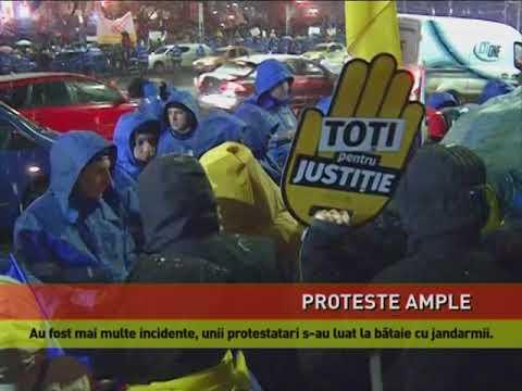 Proteste în toată ţara