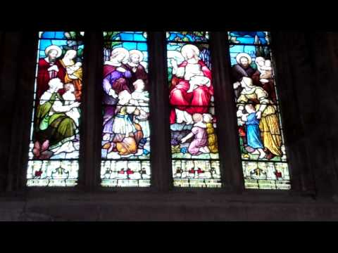 Helen Jane Baillie Stained Glass Window St Michael's Parish Church Linlithgow Scotland