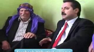 Şıwan Perwer'in babasını Bakan Çelik ziyaret etti.