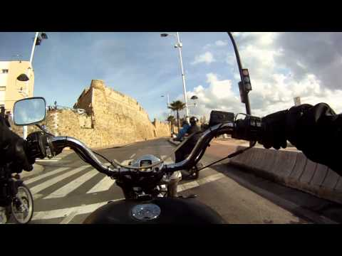 Chopperbyggarn & La Azteca in Ceuta (Spain) Des-Jan 2012 -13 #2.