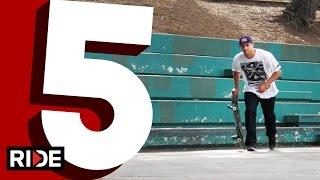Sewa Kroetkov's Five Favorite Ledge Tricks