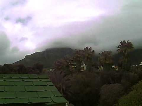 Timelapse Video – Table Mountain – 04/09/2010