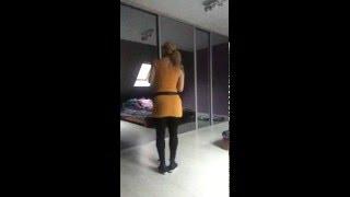 bachata lady style danse improvisation (plantegenet virginie ) 2016