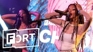 Chloe X Halle - Too Much Sauce - Live from The FADER FORT 2017