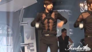 [Fancam]100607 SS501 Hyun Joong rehearsal Love ya