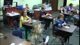 7&4 News Classroom Salute- Mrs. Derror's 3rd Grade at Mancelona Elementary