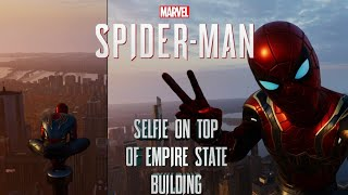Avengers building in Marvel spiderman PS4 HD