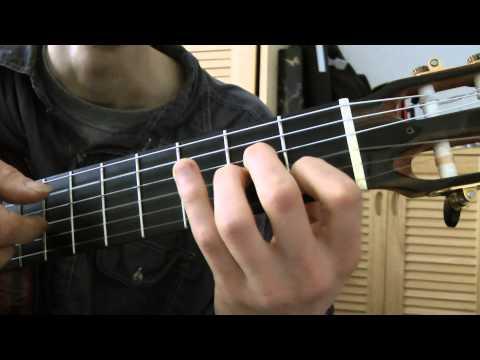 Comment jouer Ma Liberté de Georges MOUSTAKI à la guitare