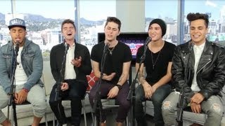 "Midnight Red ""Body Talk"" Acoustic Performance at ClevverMusic"
