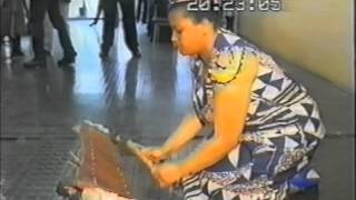 SIC-Noticiário(THE ONLY FEMALE MARIMBA PLAYER IN THE WORLD ) 1996