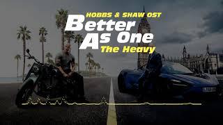 분노의 질주: 홉스&쇼(2019) OST : Better as One.FLAC / Hobbs & Shaw(2019) OST
