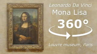 Mona Lisa 360° Tour Louvre museum Paris