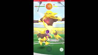 The battle of the Zam! Confusion/Focus Blast Alakazam solo in cloudy