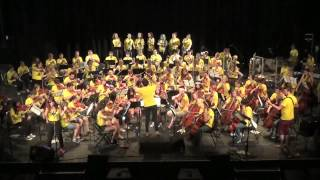 Eye Of The Tiger - 2014 Seattle Rock Orchestra Summer Intensive
