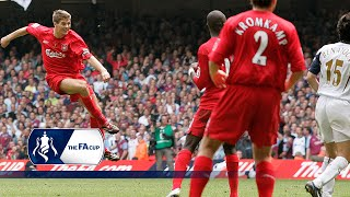 Gerrard's last minute FA Cup Final belter | From The Archive