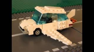 02 - Lego Citroen DS - 80s lego classic (vintage) town car - FANTOMAS