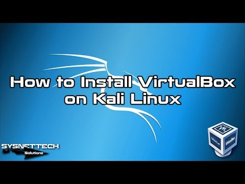 VirtualBox Setup Video