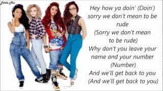 Little Mix & Missy Elliott - How Ya Doin' ? (Pictures + Lyrics)
