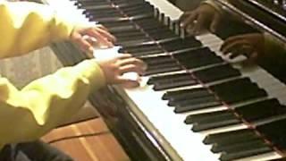 Haydn sonata in A major 2nd mvt. menuetto/trio