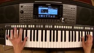 Alan Walker - Alone - piano keyboard synth cover by LIVE DJ FLO