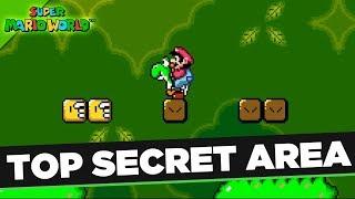 Super Mario World - How to unlock the Top Secret Area!  SNES Classic Cheats!