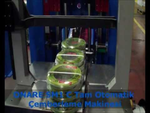 ONARE SM1 C Tam Otomatik Çemberleme Makinesi  Made in Germany